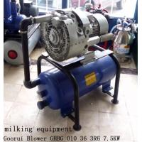 Buy cheap 7.5kw Extra High Vacuum Air Pump For Milking Machine from wholesalers
