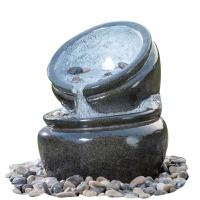 Best Traditional Black Marble Cast Stone Fountains Outdoor In Magnesia Material wholesale