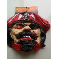 Best Red One Eyed Pirate Halloween Costumes Mask Cosplay Ghost Mask Horror Ghost Halloween Mask wholesale