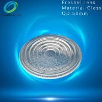 Quality Best price for Pressed clear outdoor lighting explosion proof light borosilicate glass spot fresnel lens for sale