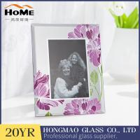 Quality Personalized 5x7 Family Picture Frames / Custom Glass Photo Frames Square for sale