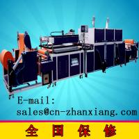 China Wenzhou exhibition cheung automatic volume of non-woven silk screen printing services on sale