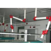 China Ceiling Mounted Laboratory Fittings , 360° Swiveled Fume Exhaust Arm on sale