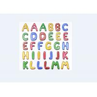 Quality Colored Custom Puffy Alphabet Stickers For Baby Room Wall Decor Eco Friendly for sale