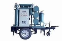 Quality insulating oil purifier, oil separator, oil reclamation equipment with trailer for sale