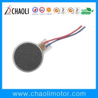 Quality Low Noise Strong Flat Vibration DC Motor CL-1020 For Cellphone Vibrator And Massager for sale