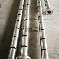 Quality Square Stainless Steel Slotted Pipe , Seamless Slotted Screen Pipe API J55 Grade for sale