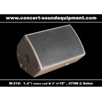 "Quality 475W Disco Sound Equipment 1.4"" + 15"" Stage Monitor , Full Range Speaker For Installation for sale"