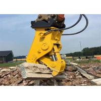 Quality No Vibration Pulverizer Attachment For Excavator Demolition Tools for sale
