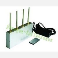 Best 505A High Power big Mobile cell Phone GSM+3G Signal Jammer with Remote Control wholesale