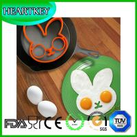 Quality Lovely difference shape Food grade silicone Non-stick Fried Egg Mold silicone egg ring for sale