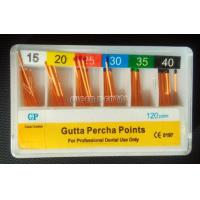 Quality Dental Endodontic Gutta Percha Point 0.02 taper 120pcs #15-40 for sale