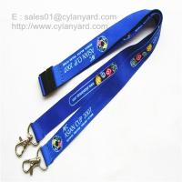 Best Open Two Ends Swivel Clip Lanyards, Two Ended Metal Hook Sublimated Lanyards wholesale