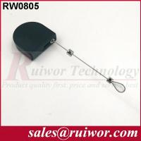 Quality Retail Stores Black Retractable Security Tether For Free / Interactive Communications for sale