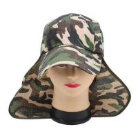 Quality Promotional Cotton Outdoor Boonie Hat , Camo Military Boonie Hat For Hunting Hiking for sale