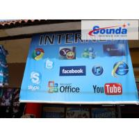 Buy Anti UV Laminated Banner Printing Material , Commercial Events PVC Advertising Banners at wholesale prices