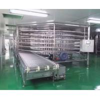 Quality Complete Pizza Production Line With Proofing Room And Tunnel Oven And Spiral Cooler for sale