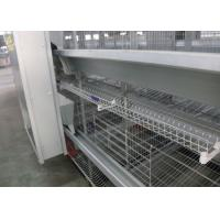 Quality Commercial Poultry Egg Production Equipment 3 Rows 3 Tiers Easy Control for sale