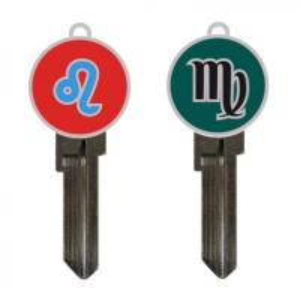 Buy locksmith supply custom-made soft enamel hard enamel key ring key blanks in kw1 at wholesale prices