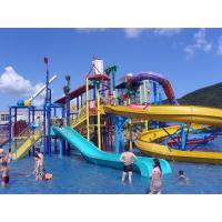 Quality Water Playground Equipment Commercial Spiral Water Slide 23 * 22 * 12m for sale