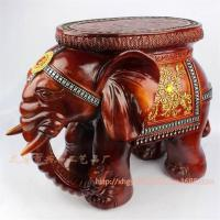 Best HOT SALE!! Big Size Resin Elephant Stool Resin Craft & Home Decoration Fashion Gifts(XH009) wholesale