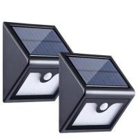 China Smart Solar Powered LED Wall Light , Outdoor IP65 Waterproof LED Wall Light on sale