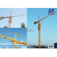 China 4 tons TC4810 Top Climbing Mini Tower Cranes 380v/50hz Power Civil Projects on sale