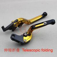 Motorcycle CNC folding lever, Motor OEM quality levers in golden color