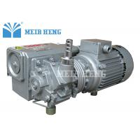 Quality Cast iron Oil Sealed Rotary Vane Pumps High Vacuum For Food Package for sale