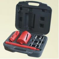 China Fast Drilling Speed Diamond Core Bit Set High Work Efficiency With Light Steel Bar on sale