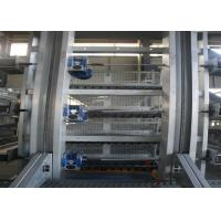 Quality High Strength Layer Poultry Farming Equipment Cross - Opening Door Design for sale