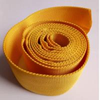 Buy cheap CE Woven Polyester Hollow Webbing , Yellow Webbing For Hydraulic Pipes from wholesalers