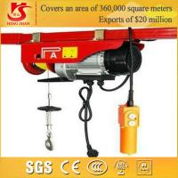 Quality 400kg electric hoist PA400 model high speed electric hoist for sale