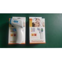 China White Lcd Display Tricolor Backlight Digital Infrared Thermometer Body Temerature Test on sale