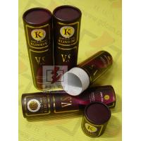 Buy 8 Inch Cardboard Tube Packaging Cylindrical Glossy Lamination Printing at wholesale prices
