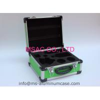 Blue Aluminum Case With Die Cut EVA Inside For Medical Accessories