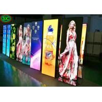 Quality P2.5 Poster Mirror Indoor Full Color LED Display For Clothing Shop , 192mm X 192mm Module Size for sale