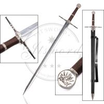 "Quality 48.4"" Video Game Replica Swords Witcher III Decorative Steel Sword Of Geralt for sale"