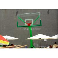 Quality Custom Acrylic Glass Basketball Backboard With Basketball Hoop And Board for sale