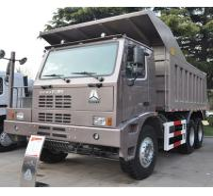 China ZZ5707V3842CJ 420HP Heavy Mining Trucks 70 Tons With Left Hand Drive on sale