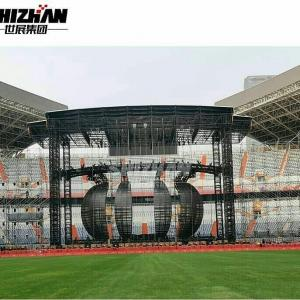 Quality 16 Degree Aluminum Arch Square Round Circle Lighting Truss for sale