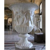 Quality Marble Flowerpot for building or garden for sale