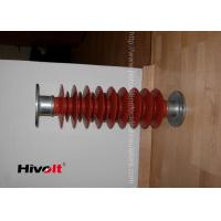 Quality Red Color Polymer Post Insulator , 46kv Post Insulator For Switch Gear Parts for sale