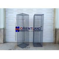 Quality PVC Coated Welded Wire Gabion Baskets / Gabion Planter / Gabion Pillars for sale