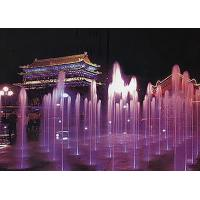 Quality Stainless Steel 304 Lighted Water Fountains / Modern Floor Fountain CE Approval for sale