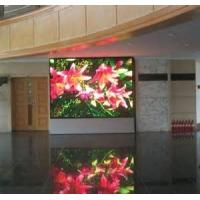 Quality Full Color scrolling RS232 / 485 led display P10 signs indoor for actories , banks for sale