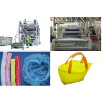 Quality Fully Automatic Non Woven Fabric Production Line For Medical Protect for sale