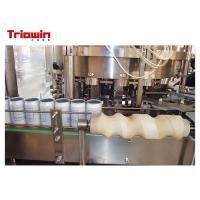 Quality Automatic Concentrated Can Filling Line Tin Canning Machine Standard Size for sale