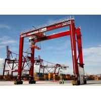 Quality High Quality 30-50Ton Rubber Tyred Gantry Crane, RTG container Crane for sale