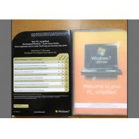 Quality All In One Windows 7 Ultimate Retail Box English Language For Operating System for sale